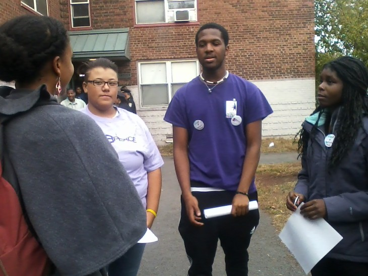 St. Stephen's teen organizers discuss community safety in Lower Roxbury